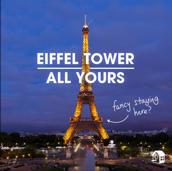 Eiffel Tower: Here's how you can rent it through HomeAway - TODAY.com