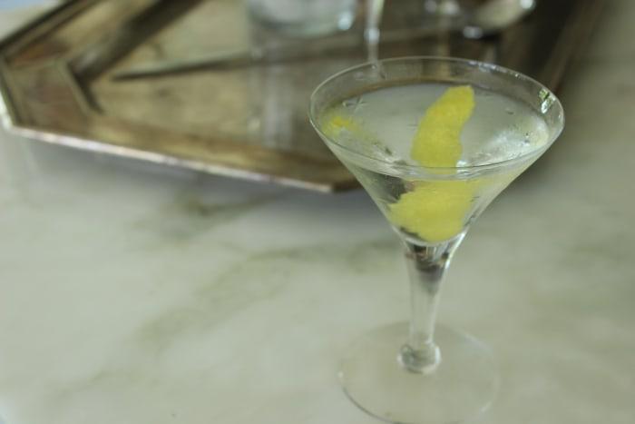 The Vesper Martini uses gin and vodka