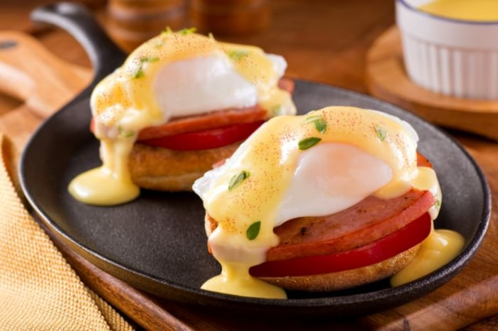 ... tips to lighten up brunch and her healthier eggs benedict - TODAY.com