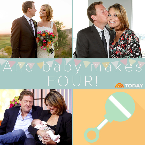 Savannah Guthrie reveals shes pregnant with second baby on TODAY – Ways to Announce a Second Baby