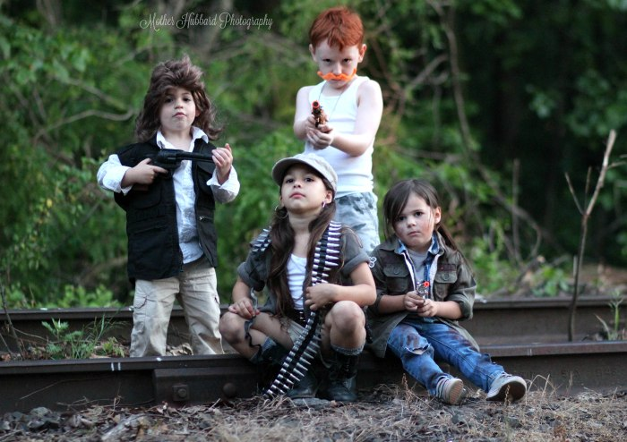 Mom Defends Walking Dead Shoot Kids Today