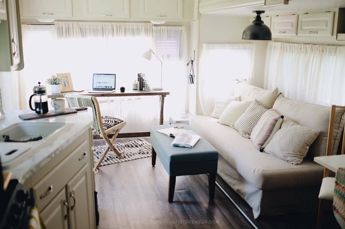 Rv Remodel On A Budget Motorhome