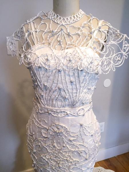 style toilet paper wedding dresses ante feathers flower crowns more