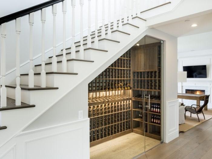 Scott disick lists los angeles home take a tour inside - Amenagement sous escalier interieur ...