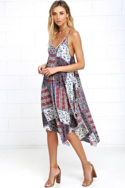 Summer Dresses Maxi Midi Off The Shoulder And Floral