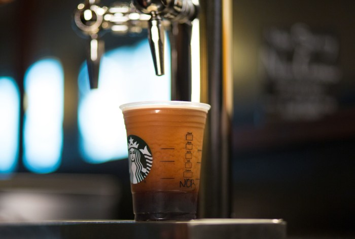 Starbucks Nitro Coffee Here S What You Need To Know
