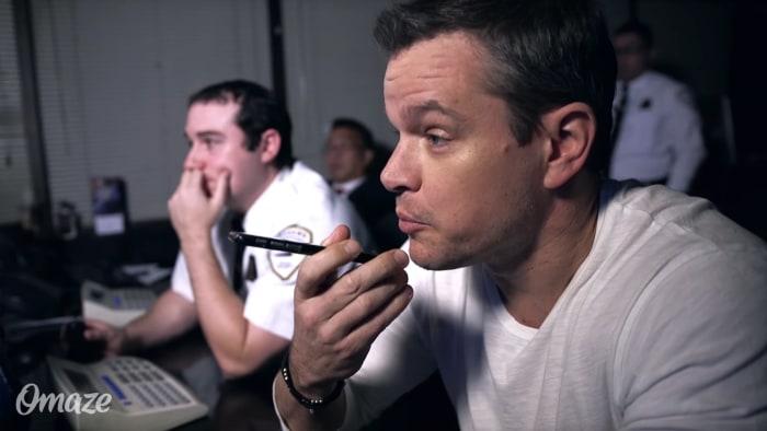 Matt Damon hilariously pranks unsuspecting strangers with spy style missions
