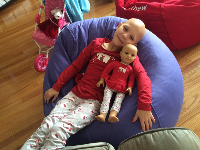 Mom of girl with alopecia thanks American Girl in sweet