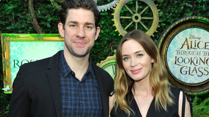 Emily blunt due date in Melbourne