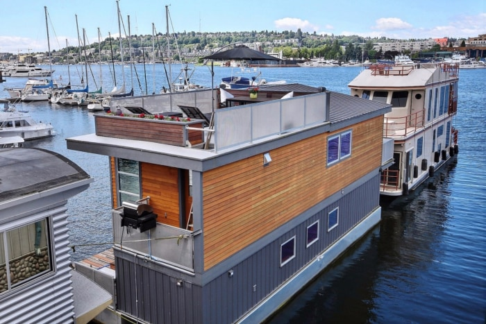 Take A Tour Inside A Seattle Tiny Home That Floats On