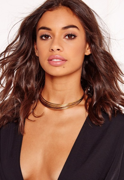 Choker necklaces are back in all types, styles