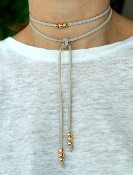 Choker Necklaces Are Back In All Types Styles Today Com