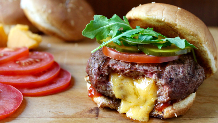 5-Ingredient Inside-Out Bacon Cheeseburgers
