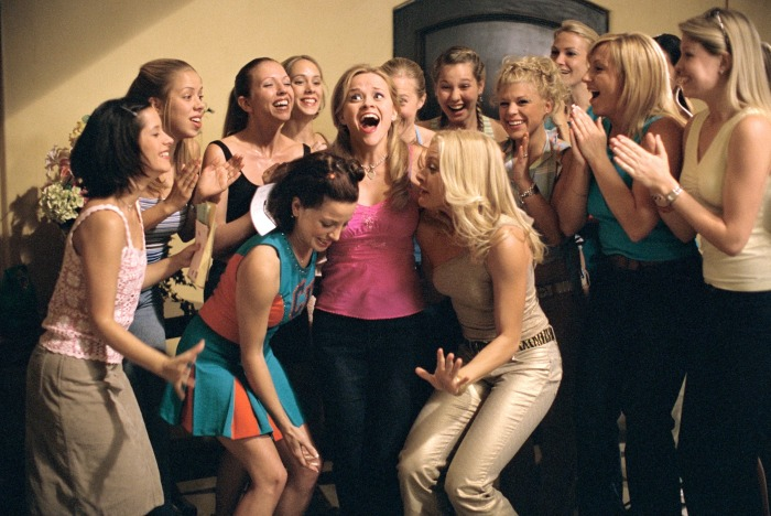 Reese Witherspoon celebrates 'Legally Blonde' on its 15th anniversary