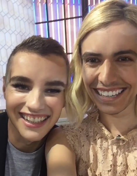 Emma Roberts, Dave Franco face-swapped for TODAY's ...