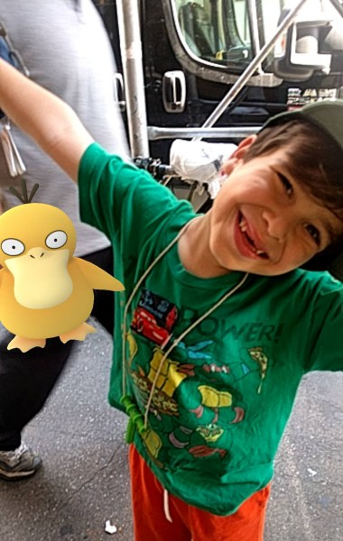 Boy with autism has become more social since he started playing Pokemon Go