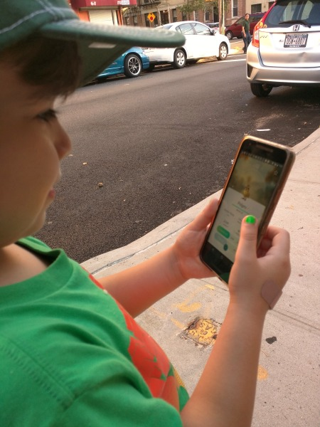 Boy with autism who's become more social since he started playing Pokemon Go