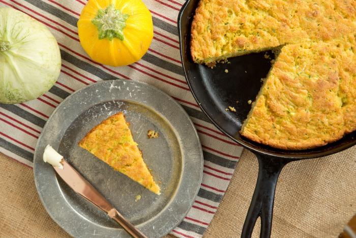 Zucchini cornbread recipe