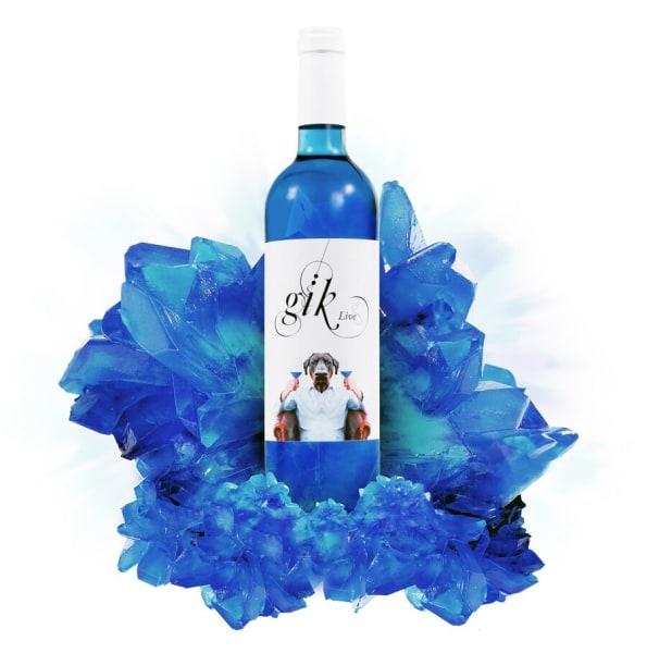 Image result for blue wine