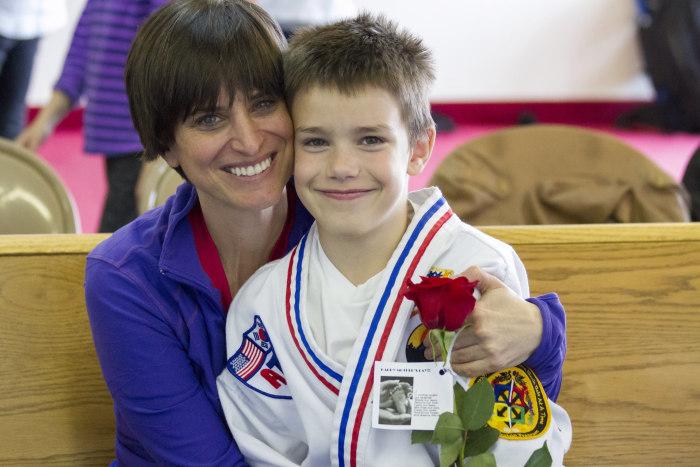 Taekwondo helps boy with autism