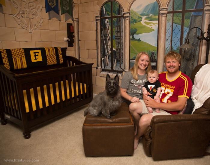 Parents Create A Magical Harry Potter Themed Nursery