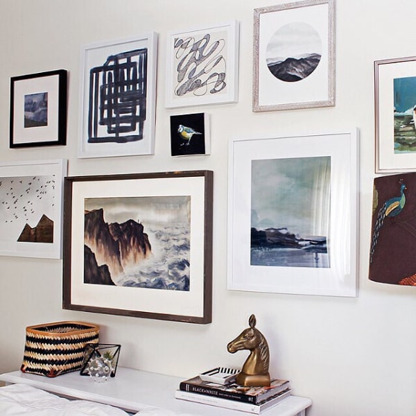 Mintedcom Now Offers Affordable Online Art Service TODAYcom - Art gallery wall