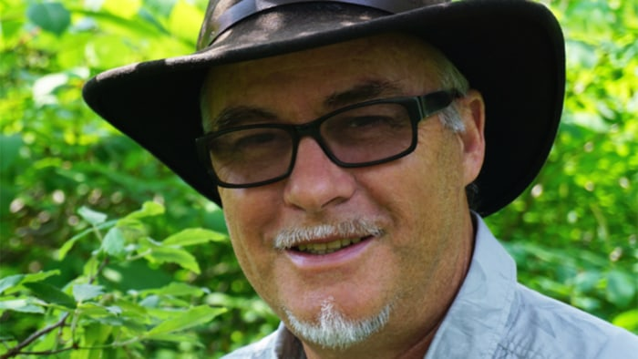 Amos Clifford is a forest therapy guide.