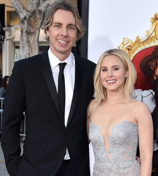 kristen bell finally reveals wedding photos with dax shepard today