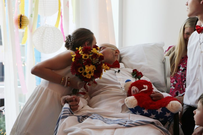 Hospice wedding