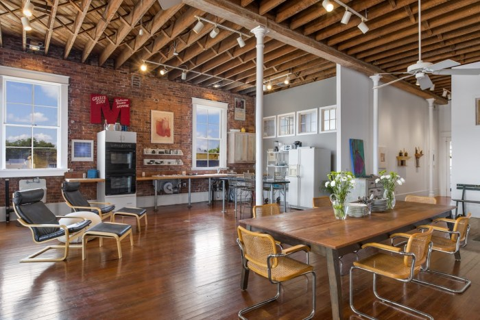 Old Florida Firehouse Transformed Into Trendy Loft Style