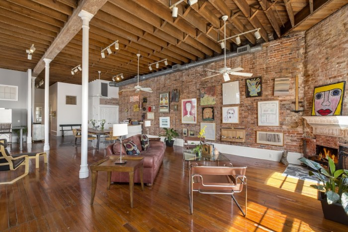 Old florida firehouse transformed into trendy loft style Converted barn homes for sale in texas