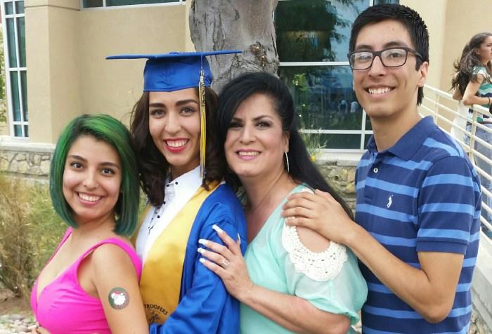 Veronica Vargas and children