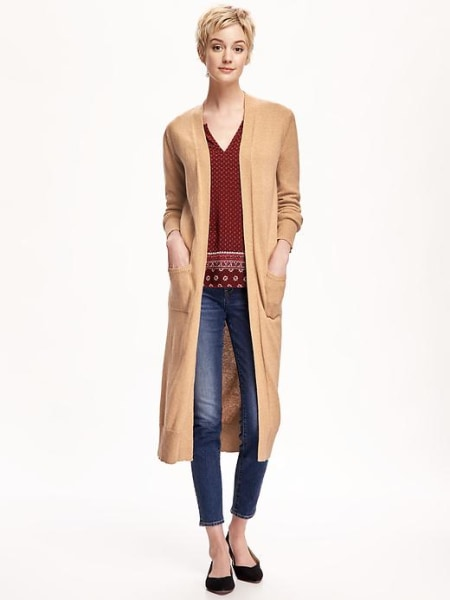 Long and Short Cardigan H&M Fall