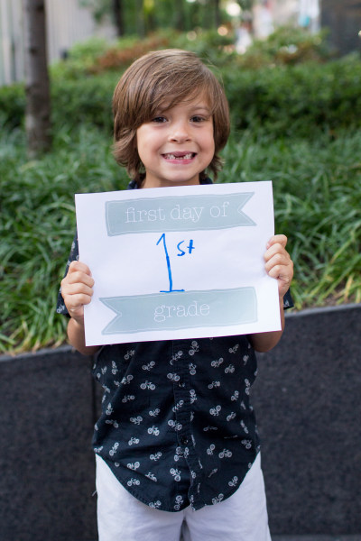 First day of school signs: 9 free printables for photos ...