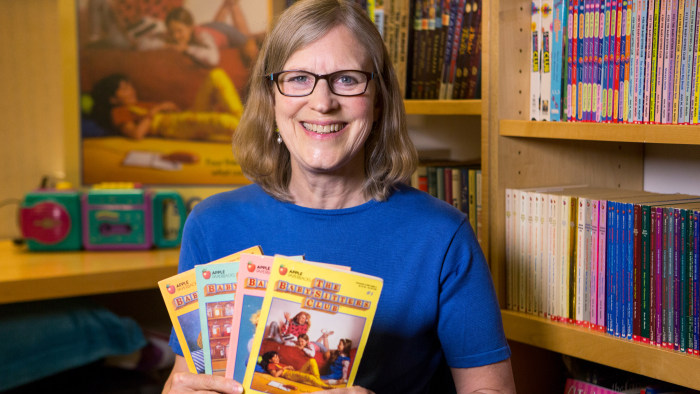 39 the baby sitters club 39 turns 30 author ann m martin answer bsc burning questions. Black Bedroom Furniture Sets. Home Design Ideas