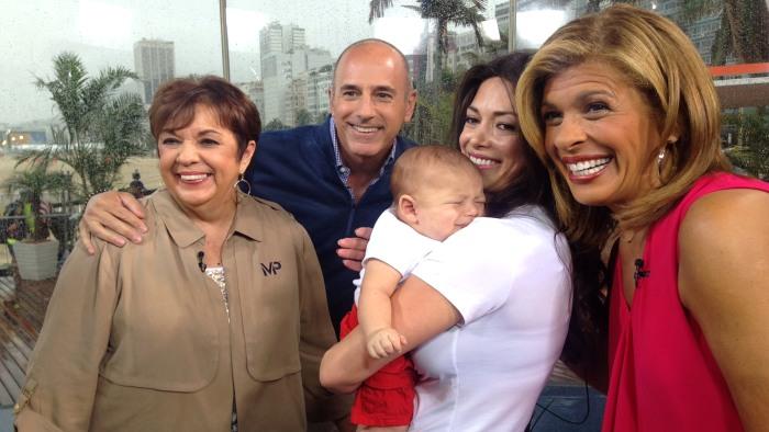 Michael Phelps' mom, fiancée Nicole Johnson and baby ...