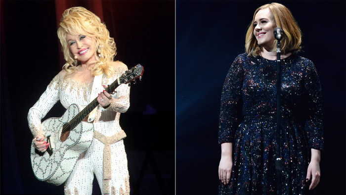 Dolly Parton wrote about Adele in her new song