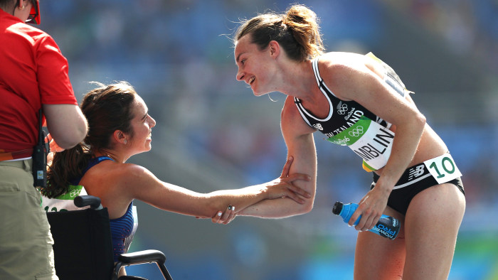 Team USA runner will sit out finals after falling during qualifier