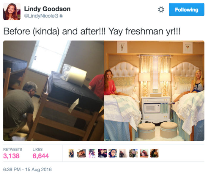 Today Viral News Home: Ole Miss Dorm Room Goes Viral With Amazing Design Makeover