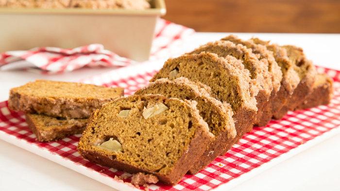 Katie Ledecky's favorite Pumpkin Apple Bread