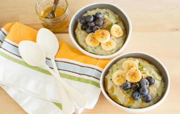 Zoats (zucchini oats)