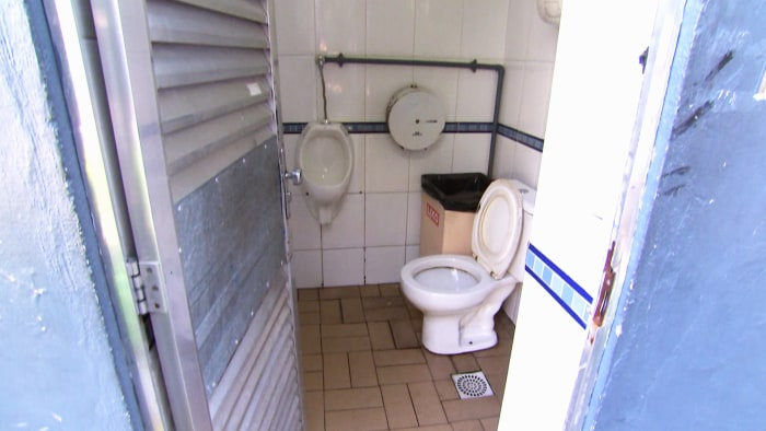 Go Inside Rio Gas Station Bathroom Us Swimmers Allegedly Vandalized