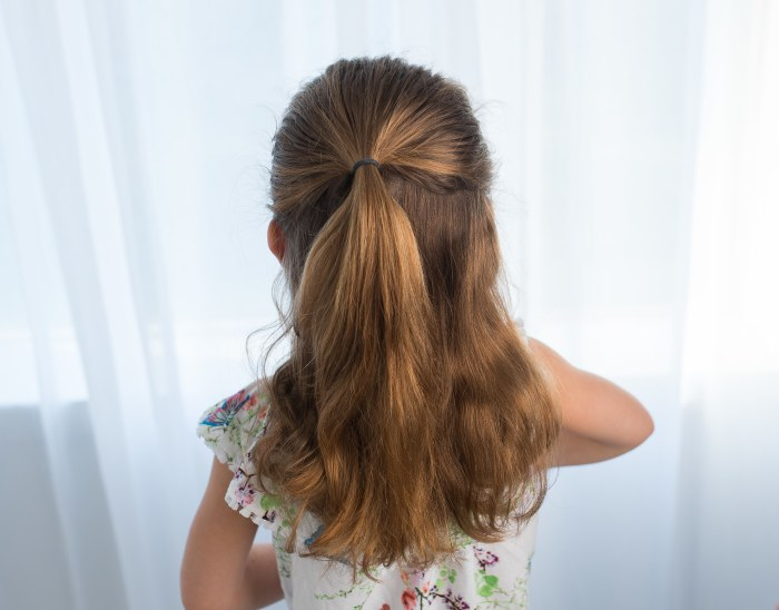 Easy Hairstyles For School pump up your pony with a chic dutch braid this hairstyle is so cute and Apple Dapples Photography