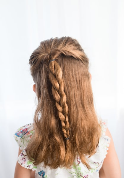 Easy hairstyles for girls that you can create in minutes ...