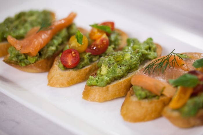 Al's avocado crostini