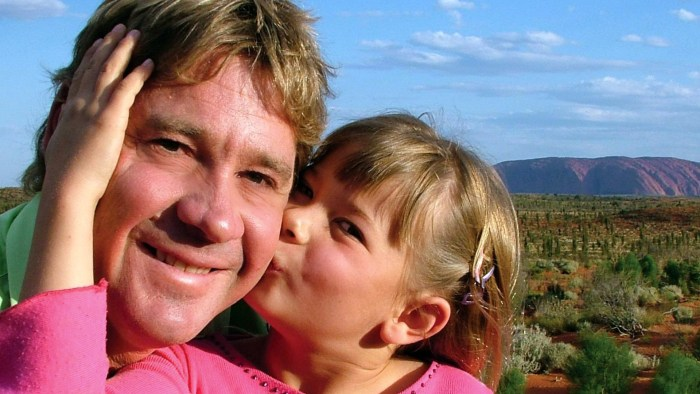 Bindi Irwin posts tribute to late father Steve on his birthday