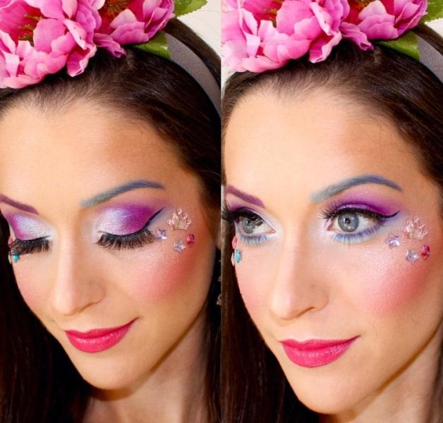pink fairy - Fairy Halloween Makeup Ideas