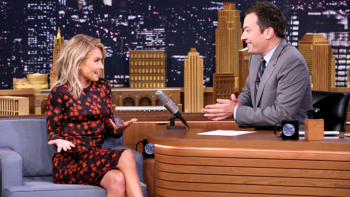 Superb Live With Kelly And Jimmy Watch Jimmy Fallon Audition To Be Short Hairstyles For Black Women Fulllsitofus
