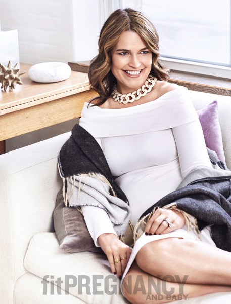 Savannah Guthrie Graces The Cover Of Fit Pregnancy