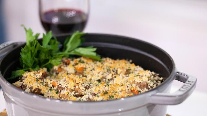 Garden Vegetable and Sausage Stew